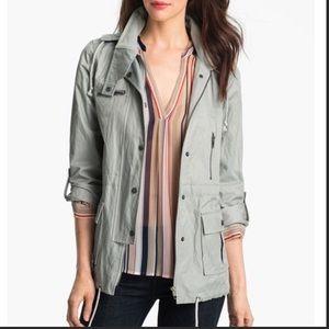 Joie Anorak Hooded Utility Rain Jacket